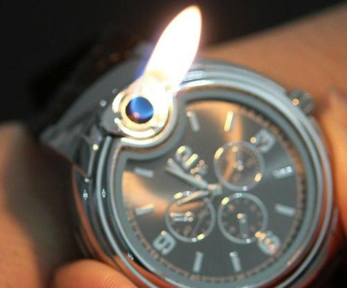 RoKo Novelty Real Watch Lighter